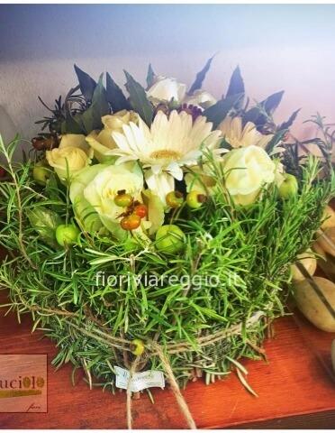Conosciuto Composizione con aromi e fiori freschi » Acquista online fiori a ZV07